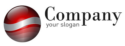 Corporate, modern vector logo Stock Photo