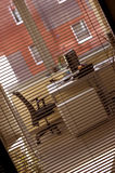 Corporate office. Office - working place - corporate business Stock Photos