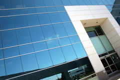 Corporate Office. Large Mirrored Building royalty free stock photos