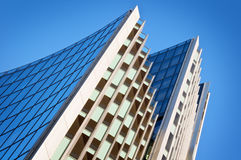 Corporate Office Buildings. Modern office building in City of London stock images