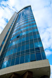 Corporate office buildings. Blue glass corporate office building Royalty Free Stock Photography