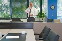 Corporate Office Employee Royalty Free Stock Photos