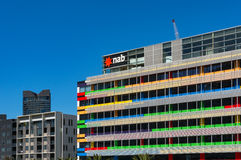 Corporate Office of NAB on Bourke street, Docklands, Melbourne Stock Photo