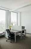 Corporate office view Royalty Free Stock Photos