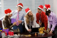 Corporate party Stock Image