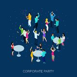 Corporate Party Concept Royalty Free Stock Image