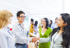 Free Corporate People Having A Business Agreement Royalty Free Stock Image - 42130356