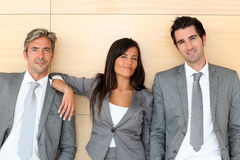Corporate people portrait Stock Image