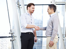 Corporate people shaking hands Royalty Free Stock Photo