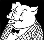 Corporate Pig Stock Image