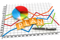 Corporate planning financial and investment concept Royalty Free Stock Photo
