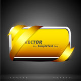 Corporate presentation with banner Stock Images