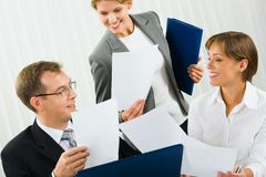 Corporate results Royalty Free Stock Image