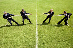Corporate rivalry Royalty Free Stock Photo