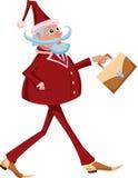 Corporate santa Stock Photo