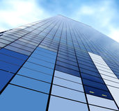 Corporate skyscraper Stock Image