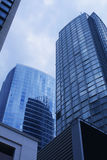 Corporate skyscrapers royalty free stock photo