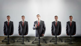 Corporate slaves, concept Royalty Free Stock Photo