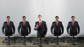Corporate slaves, concept Royalty Free Stock Images