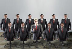 Corporate slaves, concept Royalty Free Stock Photography
