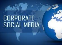 Corporate Social Media Royalty Free Stock Photos