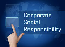 Corporate Social Responsibility royalty free illustration