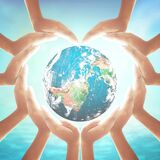 Corporate social responsibility CSR concept