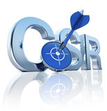 Corporate Social Responsibility Stock Image