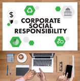 CORPORATE SOCIAL RESPONSIBILITY  Ecology Solution Fresh Lush Nat. Ural Nature Stock Photography