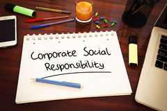 Corporate Social Responsibility Royalty Free Stock Image
