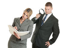 Corporate spying stock image