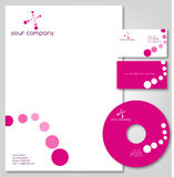 Corporate stationery Royalty Free Stock Image