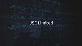 Corporate Stock Market Exchanges animated series - JSE Limited stock video footage