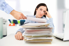 Corporate stress Stock Photography