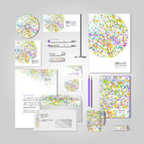 Corporate style - colourful explosion Stock Photography
