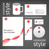 Corporate style elements Royalty Free Stock Photography