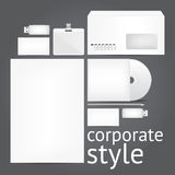 Corporate style Royalty Free Stock Photography