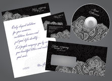 Corporate style stationery Royalty Free Stock Images