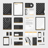 Corporate style template grid. Corporate identity template big set. Documentation for business. Vector, modern company style for brand book and guideline stock illustration