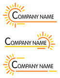 Corporate symbol templates Royalty Free Stock Photography