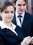 Corporate team Royalty Free Stock Photography