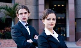 Corporate team Stock Photo