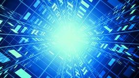 Corporate Tech Tunnel stock footage