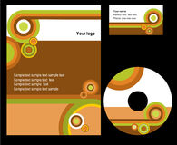 Corporate template design. Business template design - vector file Royalty Free Stock Photography