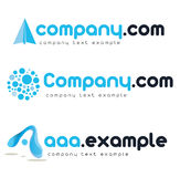 Corporate vector logo. Isolated on white Stock Image