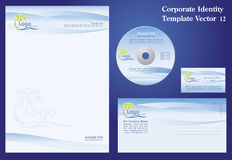 Corporate Vector Template Stock Image