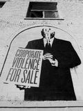 Corporate violence for sale Royalty Free Stock Image