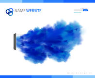 Corporate Website template Stock Photos