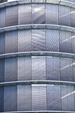 Corporate windows - Parking facade Royalty Free Stock Photography