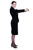 Corporate woman. Royalty Free Stock Photo